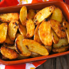 Thumbnail image for Garlic-Onion Crispy Fingerling Potato Recipe