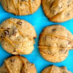 Dulce De Leche Chocolate Pretzel Cookie Recipe