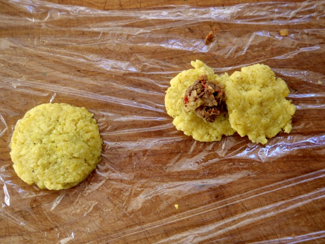 Plantain-Picadillo Empenada Recipe