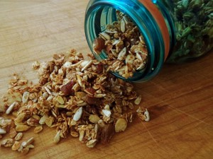 Father's Day Apple Spiced Granola Recipe