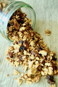 Pumpkin Spice Apple Granola Recipe