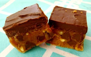 Chocolate Chip Peanut Butter Fudge Recipe