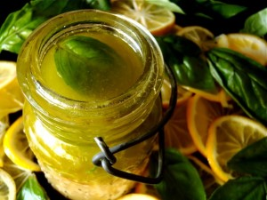 Meyer Lemon-Basil Salad Dressing Recipe