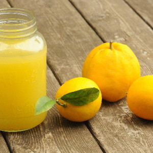 My Mom's Meyer Lemonade