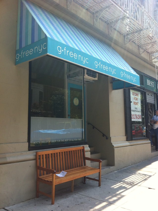 Eating Gluten-Free in New York - gluten-free nyc awning