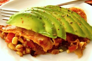 Best Vegetarian Enchilada Ever | cookingontheweekends.com
