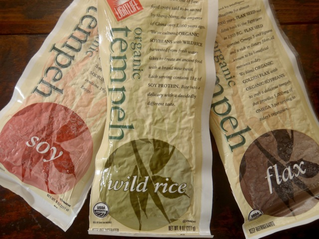 wrappers for lightlife tempeh for Tempeh Wild Rice Pesto Burger recipe