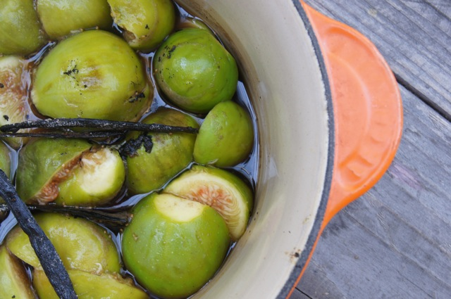 Vanilla Fig Preserves