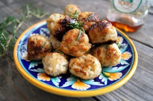 Rosemary Honey Turkey Meatball Recipe