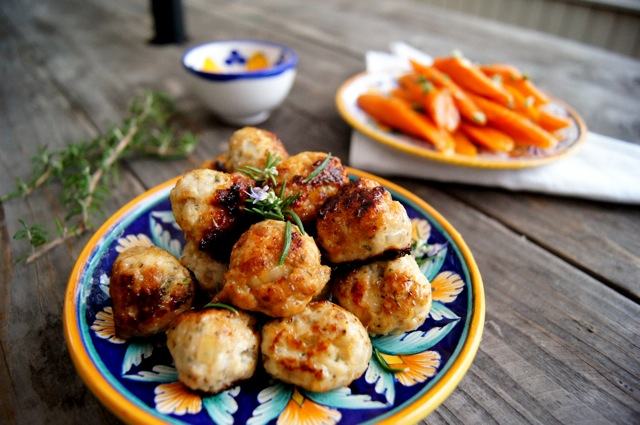 Rosemary Honey Turkey Meatball