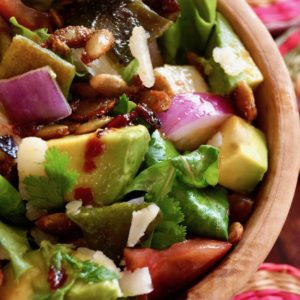 Chopped Mexican Salad with Pepitas