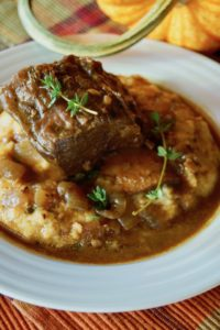 Pumpkin Braised Short Ribs Recipe
