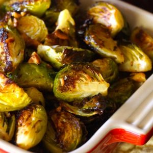 Hazelnut Brown Butter Brussels Sprouts