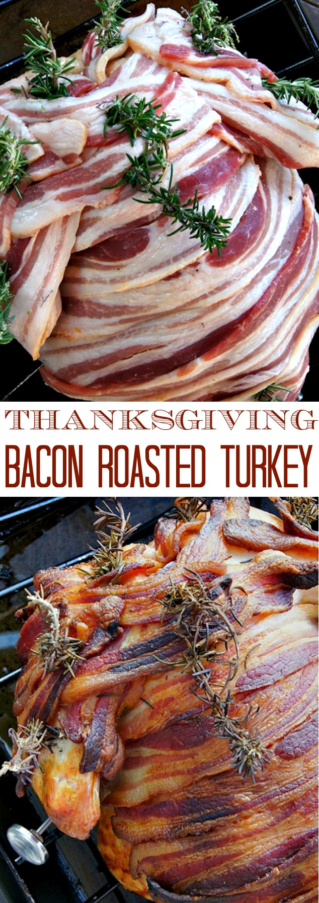 Thanksgiving Recipe: Smoky Paprika-Bacon Roasted Turkey - truly AMAZING!