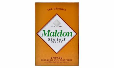 Maldon Smoked Sea Salt box