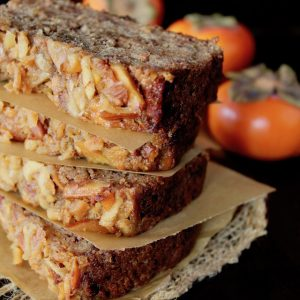 Spiced Apple Persimmon Cake