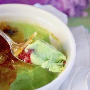 Coconut Pandan Crème Brûlée Recipe