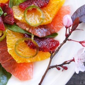 Citrus Carpaccio with Yuzu Dressing