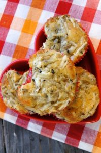 Idaho® Potato-Asiago Muffins with Herbs de Provence