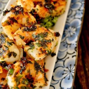 Spicy Cilantro Shrimp Recipe
