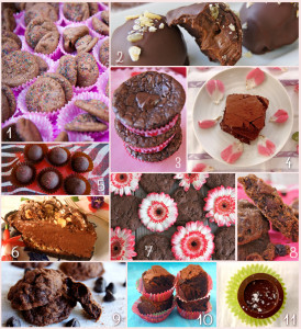 Valentine's Day Chocolate Recipes- 2012!