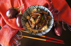 Spicy Miso Glazed Eggplant Recipe