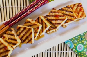 Spiced Tangerine Grilled Tofu Recipe