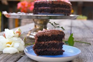 Chocolate Blackout Nutella Cake Recipe