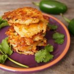 Spicy Pepper Jack Potato Pancakes