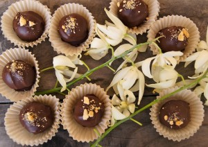 Friday Flowers: Yucca Flowers and Chocolate Biscoff Truffle Recipe {GIVEAWAY CLOSED}