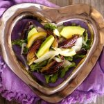 Lemon Roasted Baby Artichoke and Avocado Salad Recipe with Sherry Vinaigrette