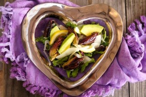 Lemon Roasted Baby Artichoke and Avocado Salad with Sherry Vinaigrette | cookingontheweekends.com