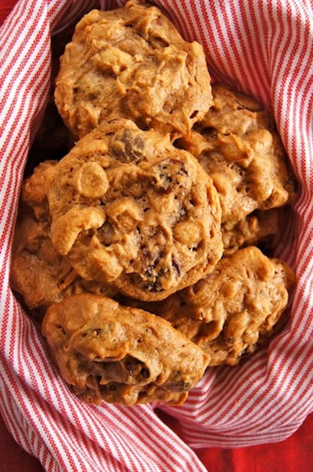 Trail Mix Peanut Butter Cookies Reicpe