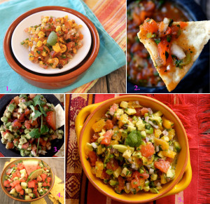 My Top Ten Summer Salsas!