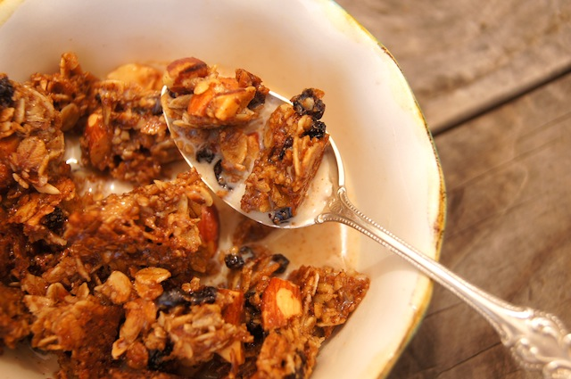 Oven Roasted Granola
