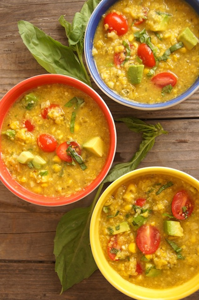 Summer-Corn Chowder Vegan Recipe