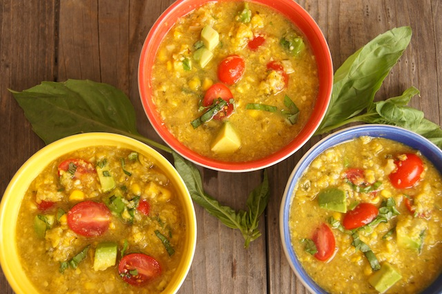 Vegan Corn Chowder