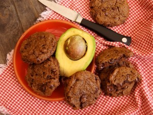 Double Chocolate Avocado Cookies