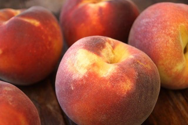 Beautiful Fresh Peaches