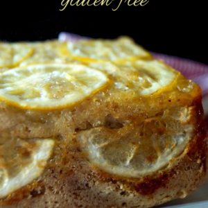 Gluten-Free Meyer Lemon Cake with Olive Oil