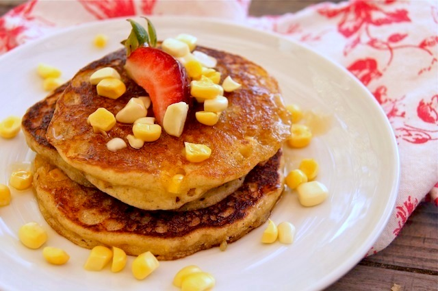 Fresh Corn Cardamom Pancakes {Gluten-Free Recipe} – weekend recipes