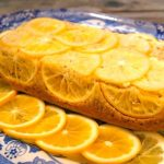 Almond-Meyer Lemon Loaf Cake with Olive Oil