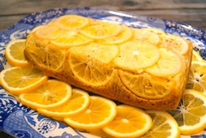 Almond-Meyer Lemon Loaf Cake with Olive Oil {Gluten-Free Recipe}