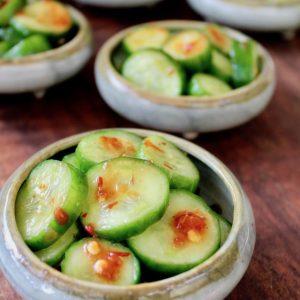 Spicy Pickled Cucumbers Recipe