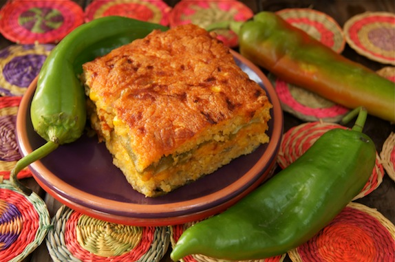 Roasted Hatch Chile Cornbread Casserole {Gluten-Free Recipe ...