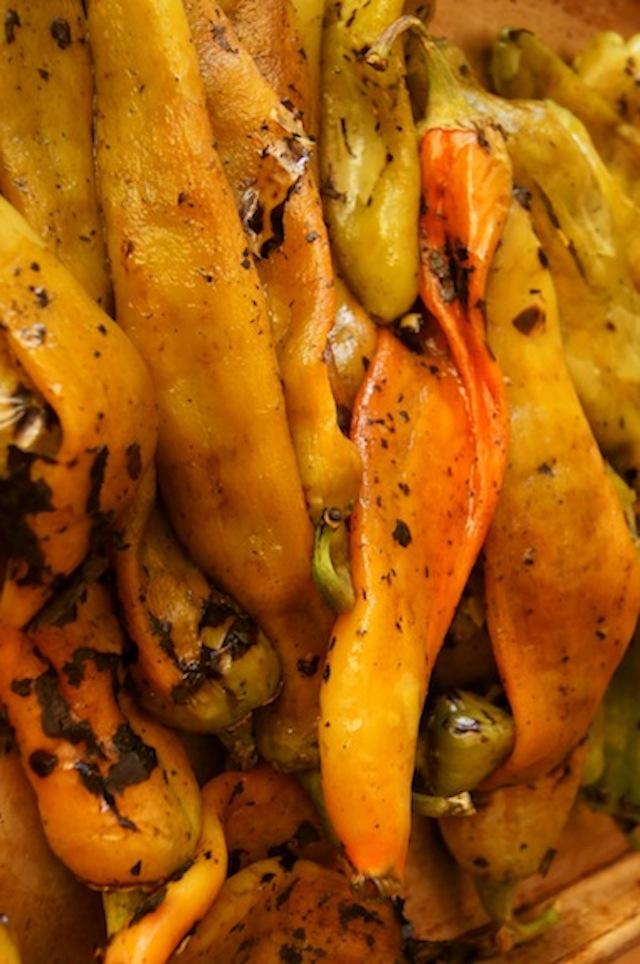 Roasted Hatch CHile Cornbread Casserole