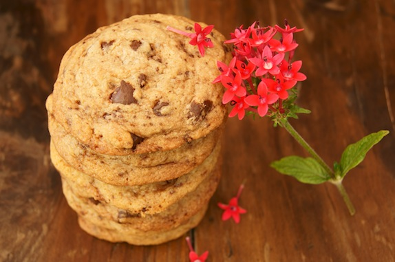 these absolutely amazing Salted Brown Butter Chocolate Chip Cookies ...