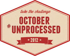 October #Unprocessed – Join Me!
