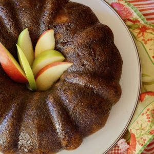 Chai Apple Bundt Cake Recipe