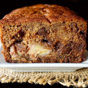 Gluten-Free Banana Chocolate Chip Cake